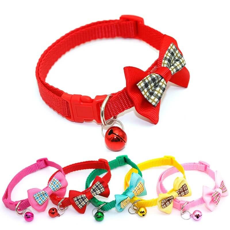 Buy Bowknot Candy Adjustable Cat Collar in Kenya