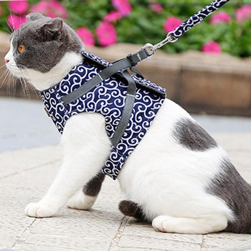 Buy Japanese Style Cat Vest Harness for Cats and Small Dogs in Kenya