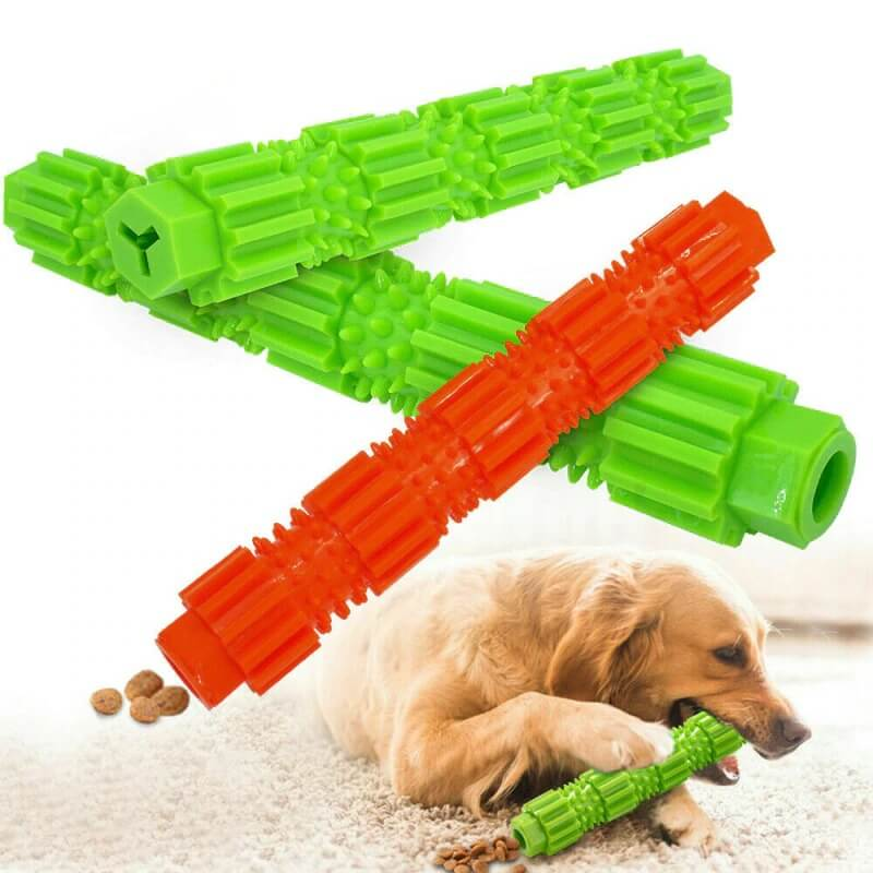 Best Aggressive Chewing Toothbrush Stick Dog Treat Toy