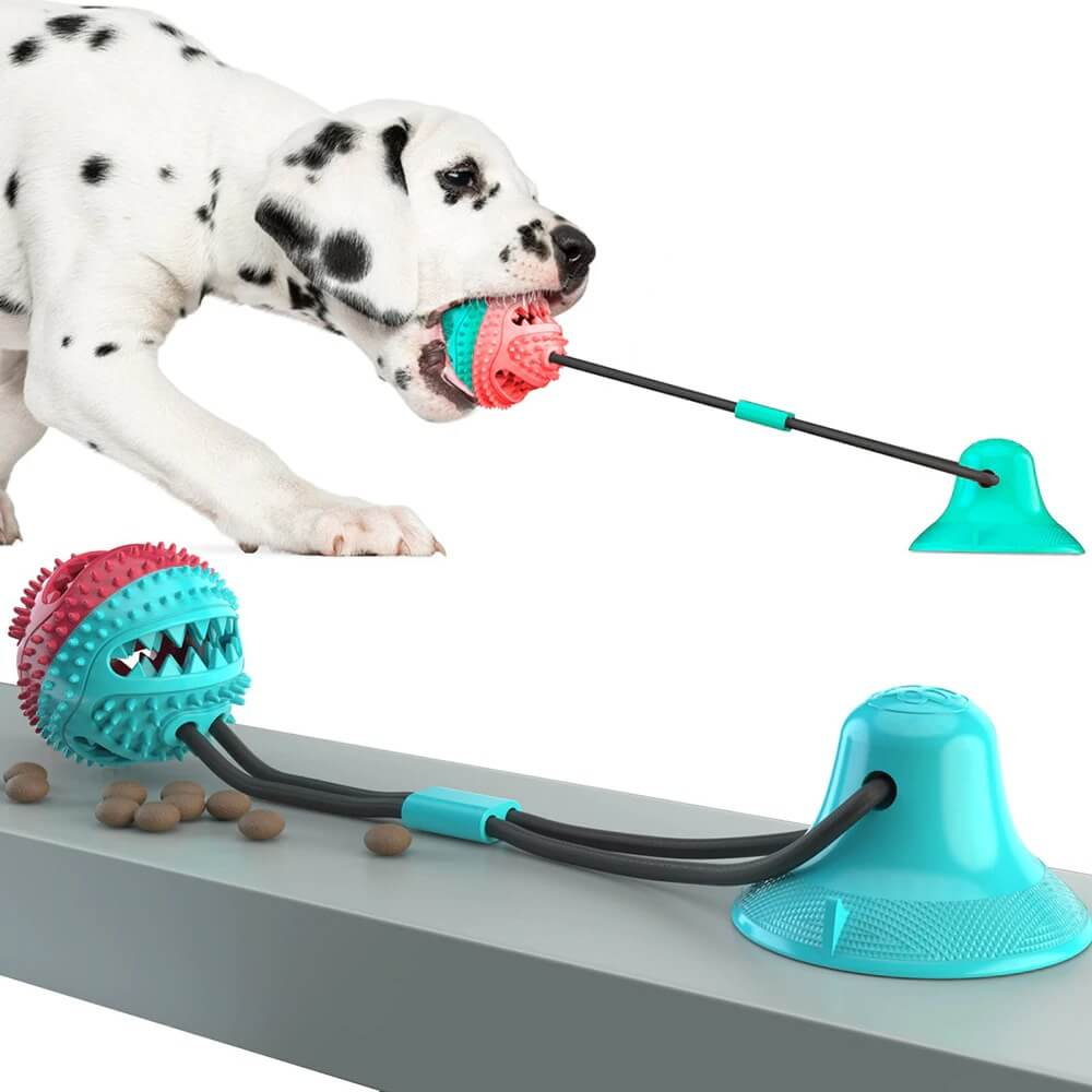 Buy Interactive Suction Cup Tug Dog Toy with Treat Ball in Kenya