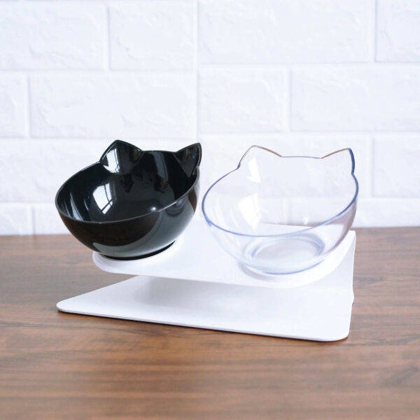 Buy Raised Cat Bowl KittyPro Elevated Cat Food Bowl Double Diner in Kenya on Petsasa