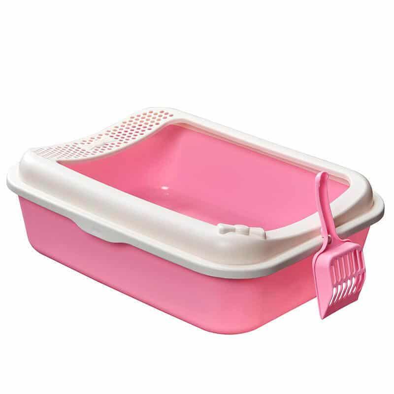Buy Pink Beautiful Smart Paws Open Cat Litter Box Pan in Kenya on Petsasa