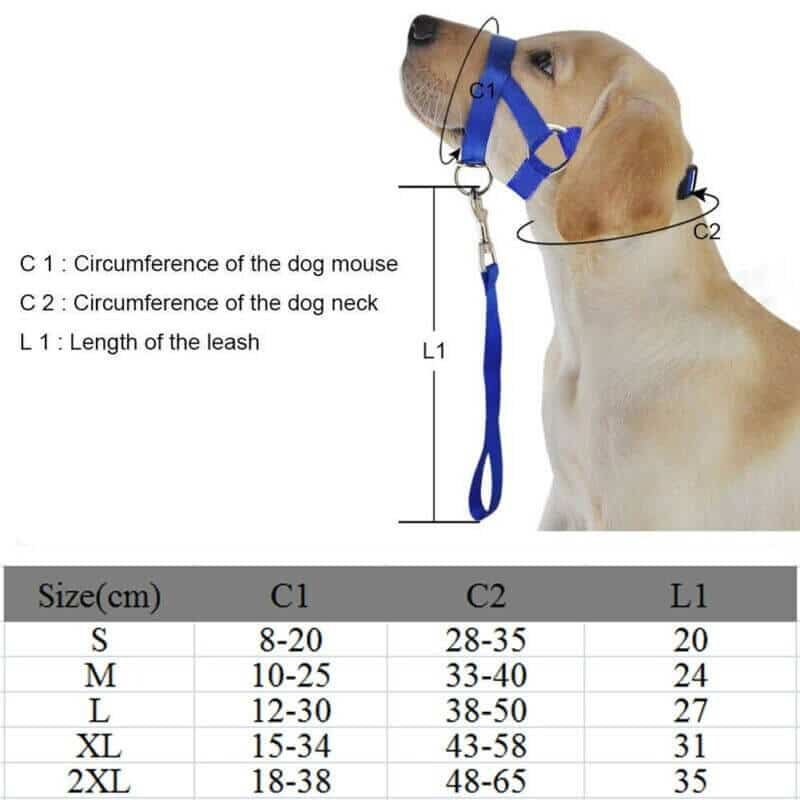Large, Small and Medium Halti Style Dog HeadCollar & Leash in Kenya