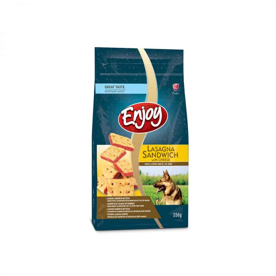 Buy Enjoy Dog Snacks Lasagna Sandwich With Cheese on Petsasa Pet Store in Nairobi Kenya