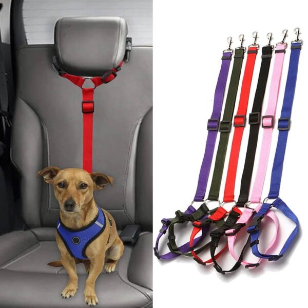 Best Headrest Restraint Adjustable Car Safety Dog Seat Belt in Nairobi Kenya