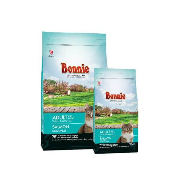 Buy Bonnie Salmon Dry Adult Cat Food Online in Kenya