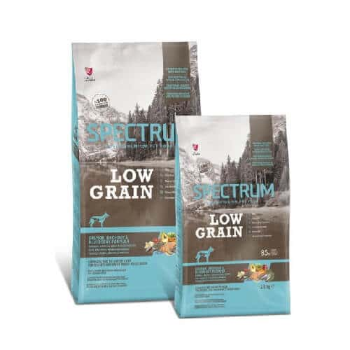 PetStore Kenya Spectrum Low Grain Medium & Large Breed Dog Food, Salmon, Anchovy & Blueberry