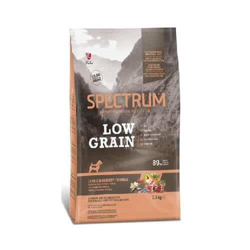 PetStore Kenya Spectrum Low Grain Mini & Small Breed Dog Food, Lamb & Blueberry