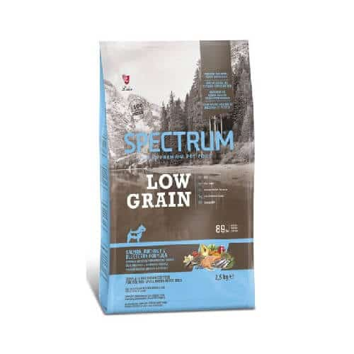 Pet Store Kenya Spectrum Low Grain Mini & Small Breed Dog Food, Salmon, Anchovy & Blueberry