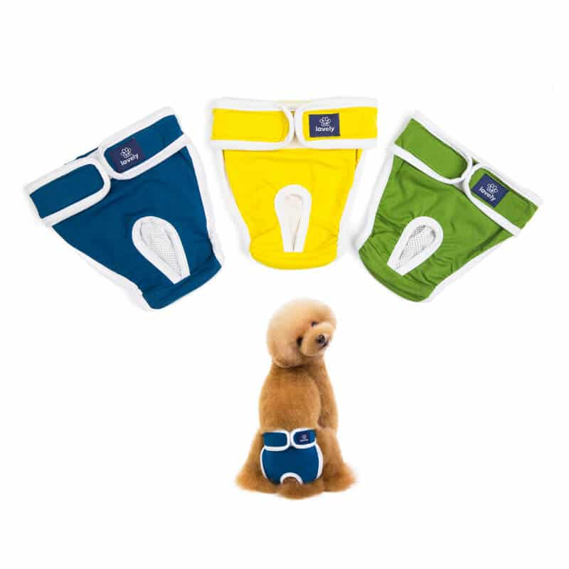 Best Dog Diapers Physiological Pants Washable Dog Shorts Soft Girl Dogs Pants Pets Underwear Sanitary Panties