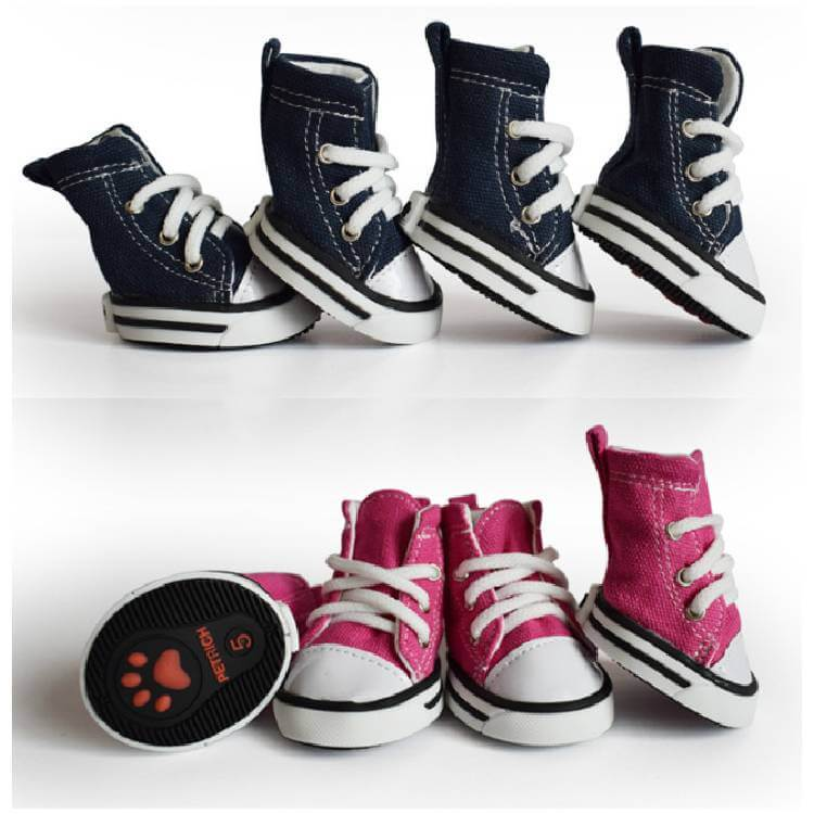 Casual Canvas Dog Shoes, Sports Pet Shoes For The Royal Pets Kenya