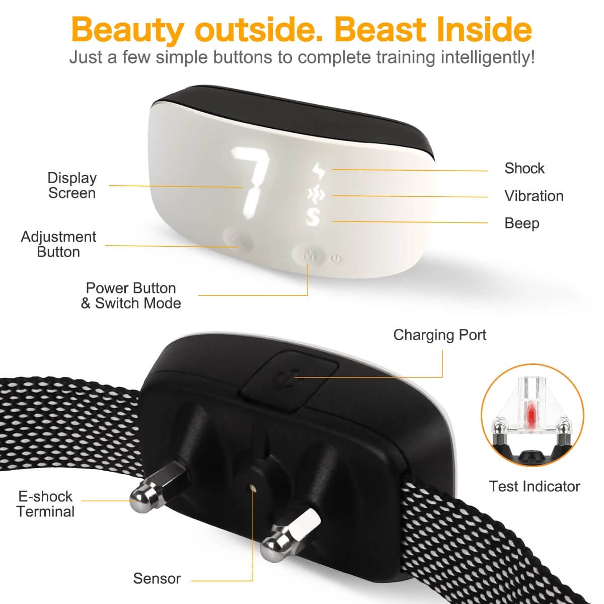 Buy in Nairobi Petsasa Rechargeable Dog Bark Training Collar Kenya