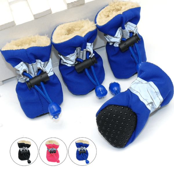Pet House Kenya Lightweight Fleece Dog Boots Shoes
