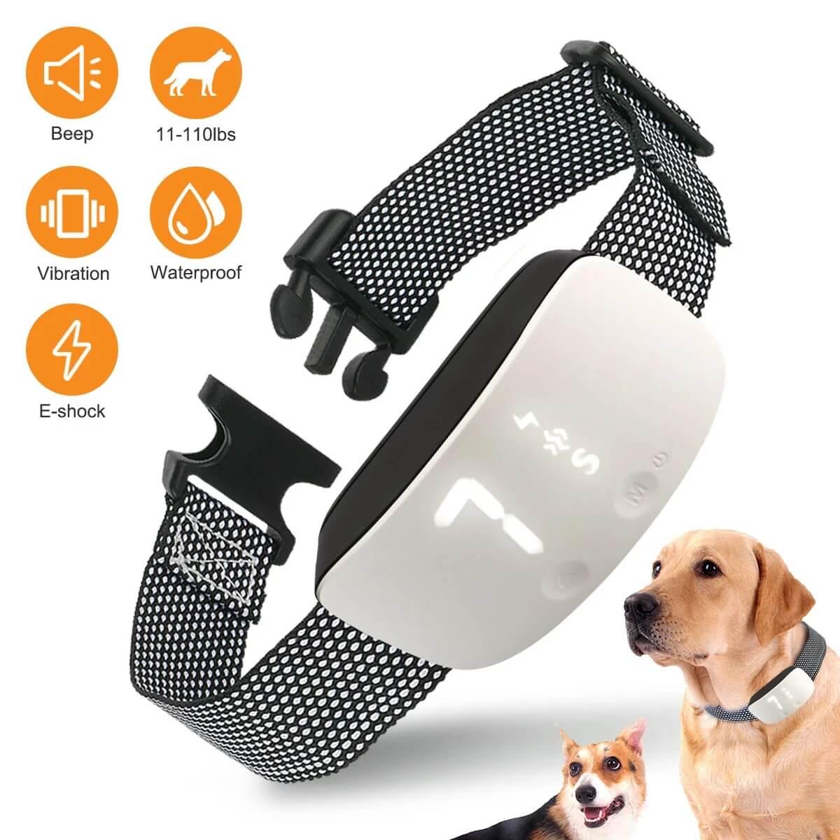 Best Anti-Bark Petsasa Rechargeable Dog Bark Training Collar in Kenya