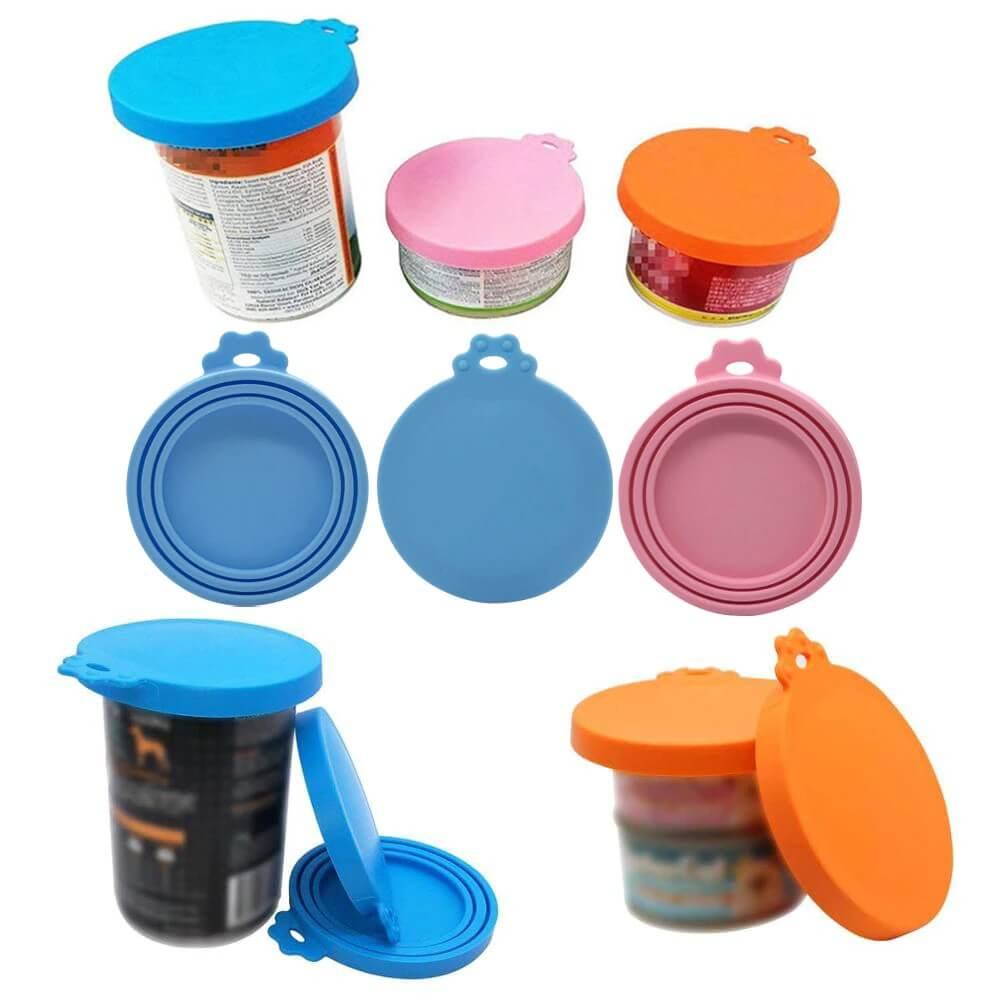 Buy Silicone Pet Food Can Cover Lid, Airtight Food Storage Sealer at Petsasa Kenya in Nairobi