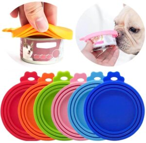 Petsasa Silicone Lid For Cans Reusable Seal Cover For Dog Cat Food Storage Water Feeding Bowl Lids Portable Pet Supplies Nairobi Kenya