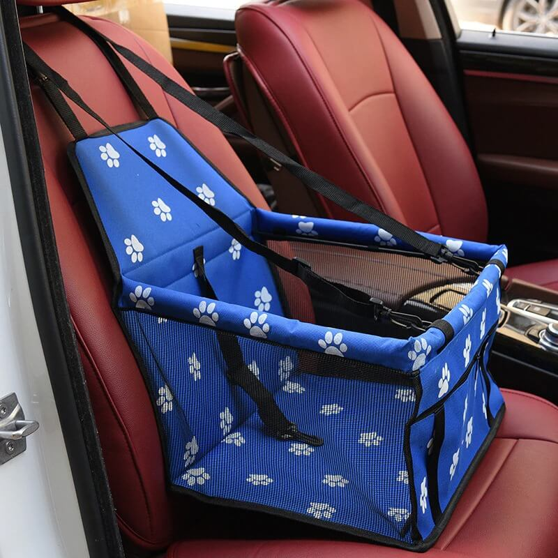 Blue Pet Car Booster Seat Travel Carrier Cage, Oxford Breathable Folding Soft Washable Travel Bags for Dogs Cats or Other Small Pet Nairobi Kenya