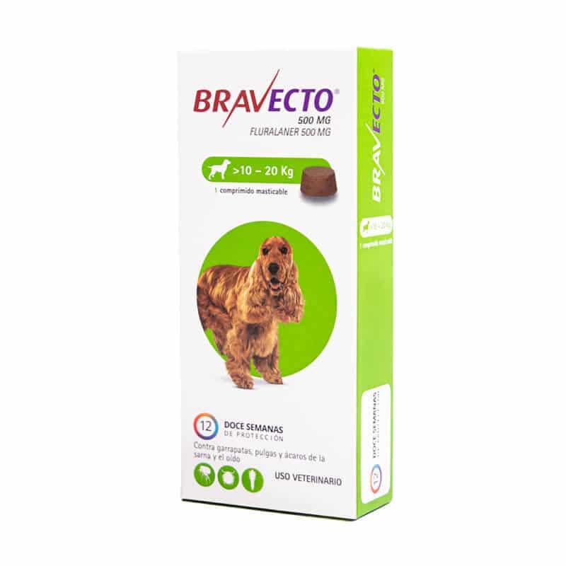 Bravecto for Medium Dogs 10 to 20Kg, Soft Chew Tablets Flea & Tick Treatment in Nairobi at Petsasa Kenya