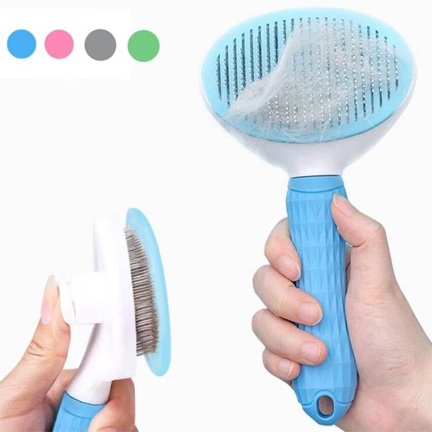 High Quality Petsasa Self Cleaning Slicker Pet Brush for Dogs and Cats in Nairobi Petstore Kenya