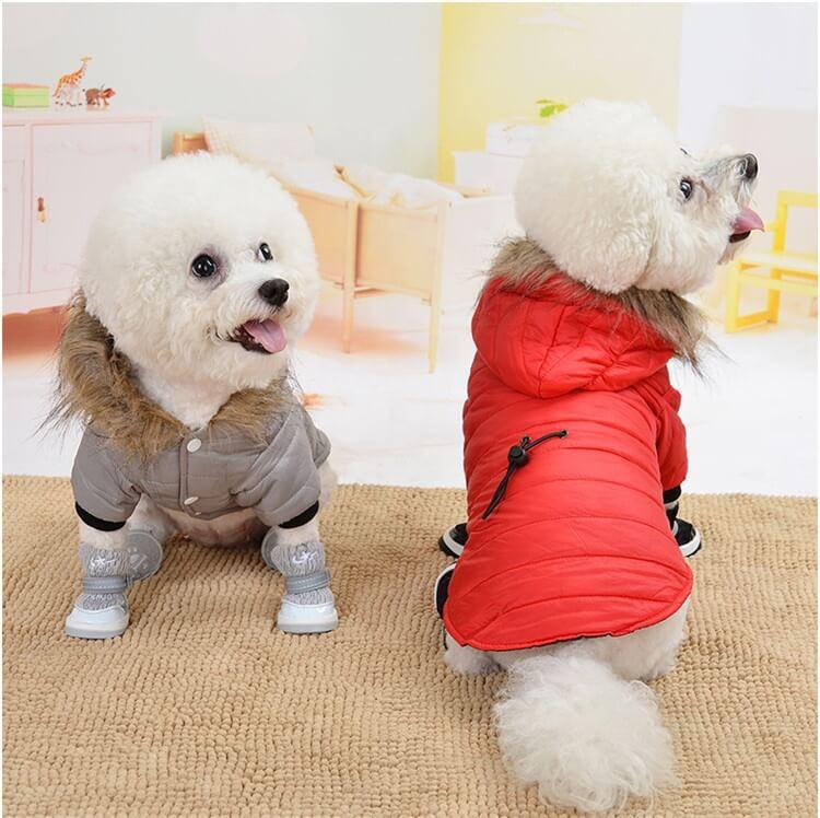 Beautiful Dog Coats Petsasa Cold Weather Furry Hooded Dog Jacket in Nairobi Kenya
