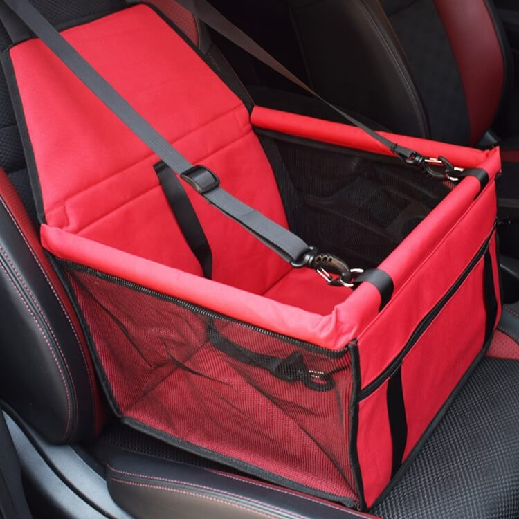 Red Best Pet Car Booster Seat Travel Carrier Cage, Oxford Breathable Folding Soft Washable Travel Bags for Dogs Cats or Other Small Pet Petstore Kenya Nairobi